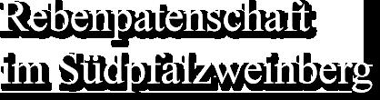 Rebenpatenschaft im Südpfalzweinberg